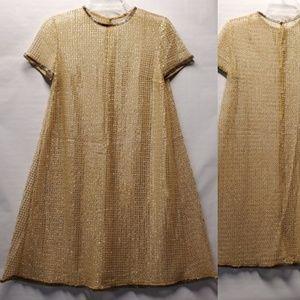 Dresses & Skirts - Vintage sheer A line shift dress